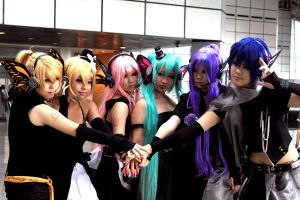 Vocaloid: Magnet Team by Piyon-Pyon