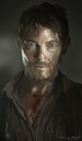 Daryl Dixon by ThatLineaGirl