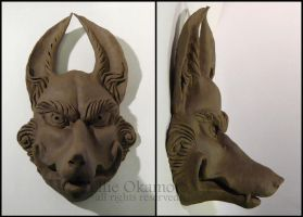 Study of Wolf Mask by EllieOkamoto