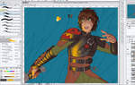 Alpha Duo (Hiccup WIP) by piku-chan