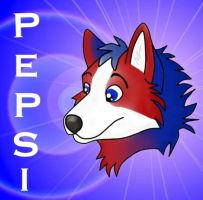 this is Pepsi :3 my other fursona by blizyrockets