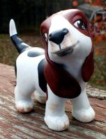 Blossom the Basset Pony 02 by lizstaley