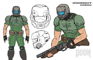 Doomguy Final Design by NiteOwl94