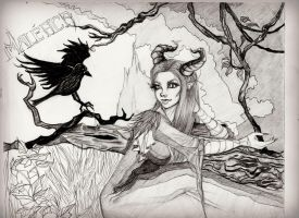 Maleficent by placehewitt