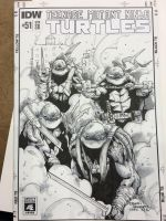 C2E2 2016 TMNT sketch cover by BrianVander