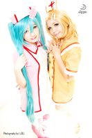 LCW: Miku and Rin i by seseostara