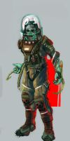 Space Suit by MattNB