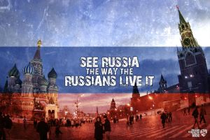 Come To Russia - Postcard by jackroberts