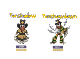 Fakemon - Ponshadow, Ponshowdown by Trueform