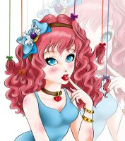 contest Entry: Candy Lucy Coloring by animemanda