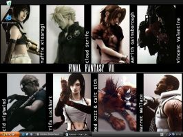 Final Fantasy VII by MajinLu