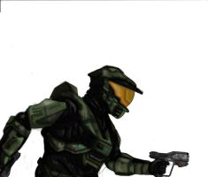 Master Chief WIP by JackSkelling10