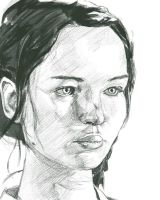 Katniss by hasunkhan