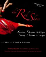 Poster: The Red Shoes by katyanoctis