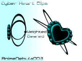 Cyber Heart Clips DL! by AnimeNebula003