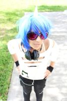 MLP Vinyl Scratch Cosplay: Best DJ by Awesome-Vivi