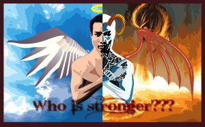 Who is stronger??? by trocloc