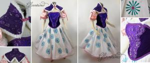 Haunted Mansion Tightrope Walker Cosplay Dress by glimmerwood