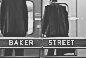A flashback in the past - Baker Street by LoveSexAndDrugs