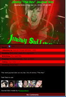 Jimmy The Rev Sullivan Journal Skin by DragonA7X