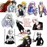 Pandora Hearts tumblr dump - SPOILERS by Amarevia