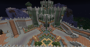 MC project 1.8 (House/Castle - complete) by Maileksa