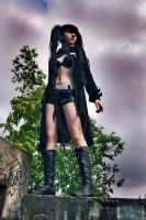 black rock shooter by Haruhi-tyan