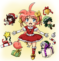 PT - Merry Christmas 2011 by amako-chan