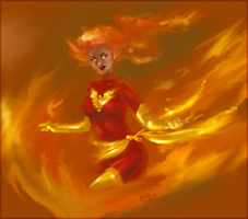 Phoenix - Fire Dance by Ammosart