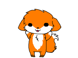 Baby Fox Doodle by xOAVRILOx