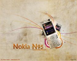 Nokia N95 by magic-des