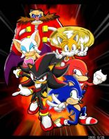 sonic team by Fission07