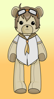 Tim! OC - Box Ghost (Teddybear!?) by Miserable-in-Orange