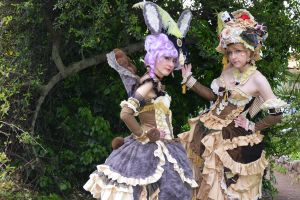 Mad Hatter and March Hare by LovelySary