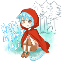 HAPPY BIRTHDAY TO LELE by Aluto