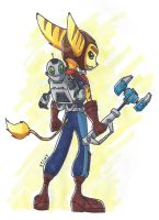 Ratchet and Clank by mikiXtheXgreat