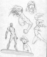 Sketches by RyanOttley