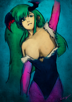 Morrigan Aensland by nicollearl