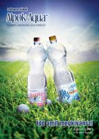 Alpok-Aqua ad in golf magazin by arkantal