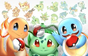 Choose your Starter by Kamaniki
