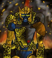 Dark Futures Cheetor by Jagna-Q7
