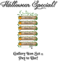 Pumpkin Gallery Icon Set - Pay 2 Use! by Drache-Lehre