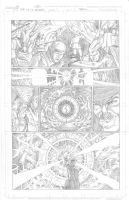 Thor Page 1 Pencils by Theamat