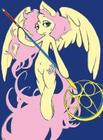 Fluttershy is magic by Mlle-Honey