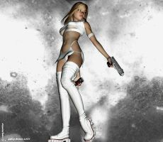 SexyGirlswithGuns nr. 7 by LeAKyGrAPHics