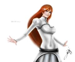 Inuoe Orihime by JazzSiyArt
