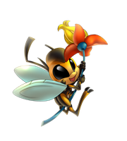 Gift: Aster the Bee by Anakonda1331