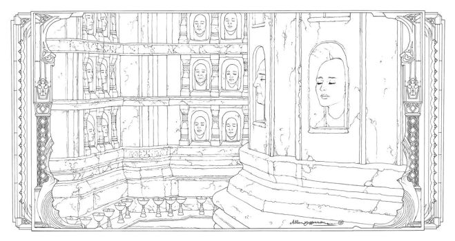 Game Of Thrones_ Coloring Book_ 11 by AllJeff