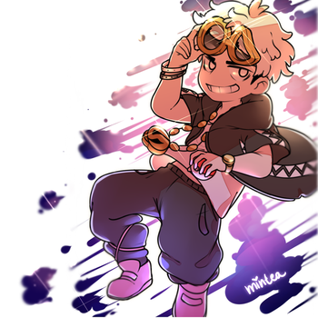 Guzma at the Speed of Sound by minteaparty