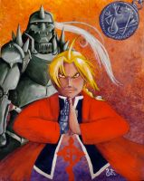 Art for Japan - FMA by RobinRone